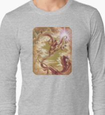Silver Ivy, Surreal Nature Long Sleeve T-Shirt