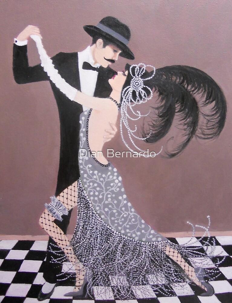 ART DECO DANCERS by Dian Bernardo