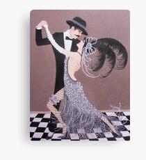 ART DECO DANCERS Canvas Print