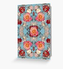 Blue Roses  Greeting Card