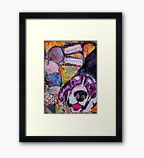 Ice Cream by WhimsicalColorfulYou Framed Print