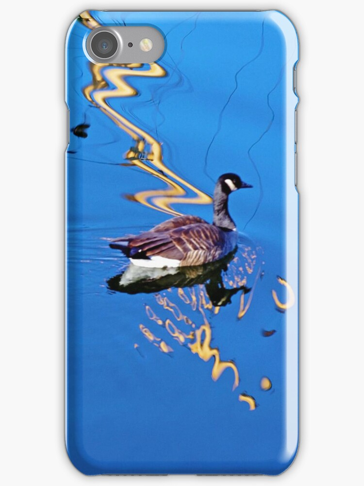 Swimming In Color iPhone case. by Todd Rollins