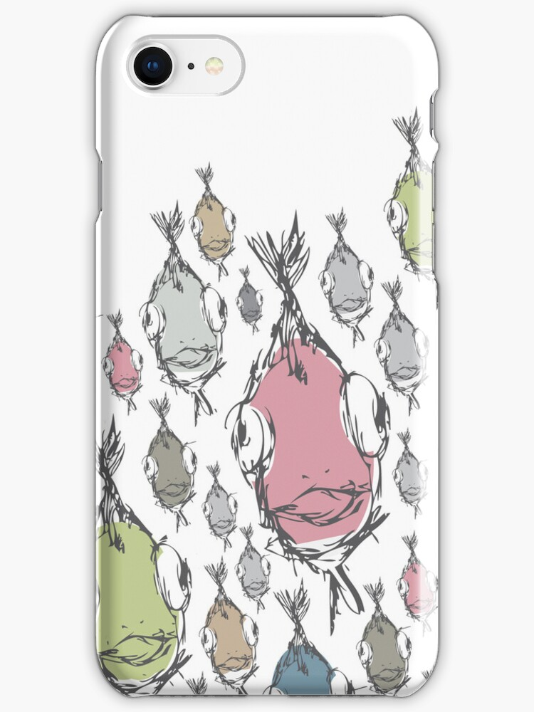Fish Pattern Phone Case Cover by anjafreak