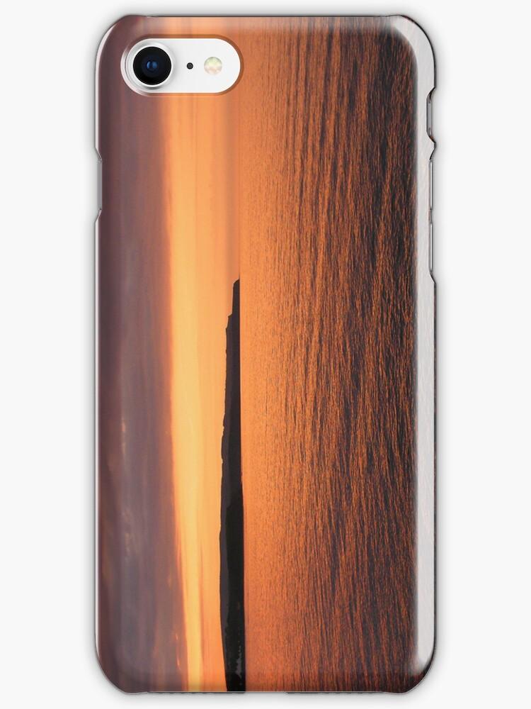 Coastal Sunset (phone cover) by TREVOR34