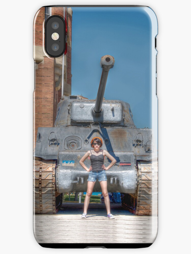 got tank? iPhone case by Lisa Knechtel