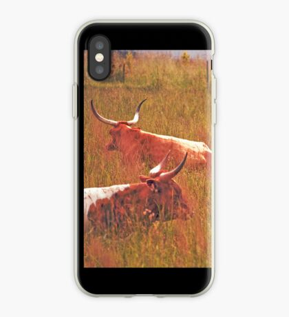 Two Longhorns iPhone case. iPhone Case
