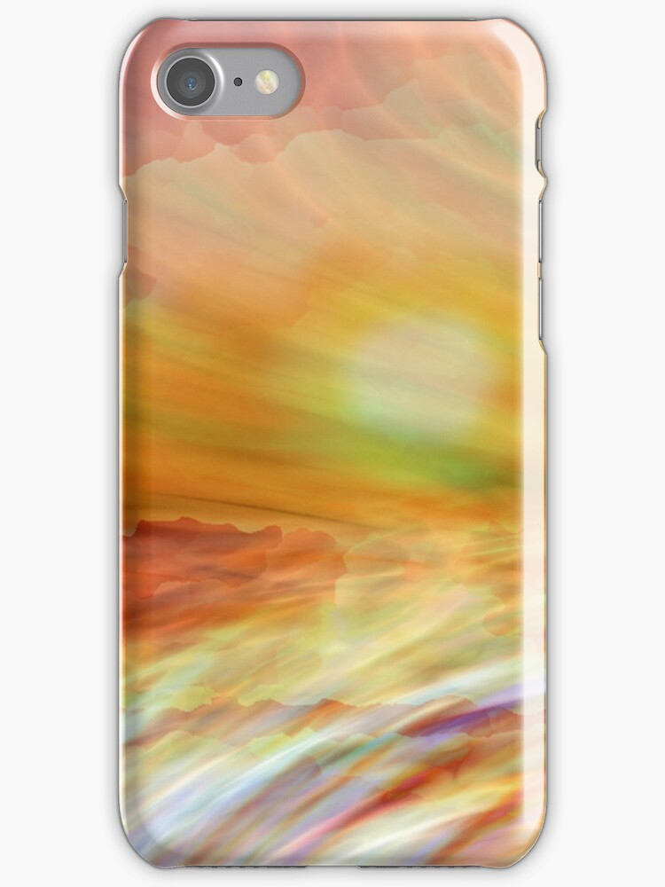 A Slip And A Slide-I Phone Case by Diane Johnson-Mosley