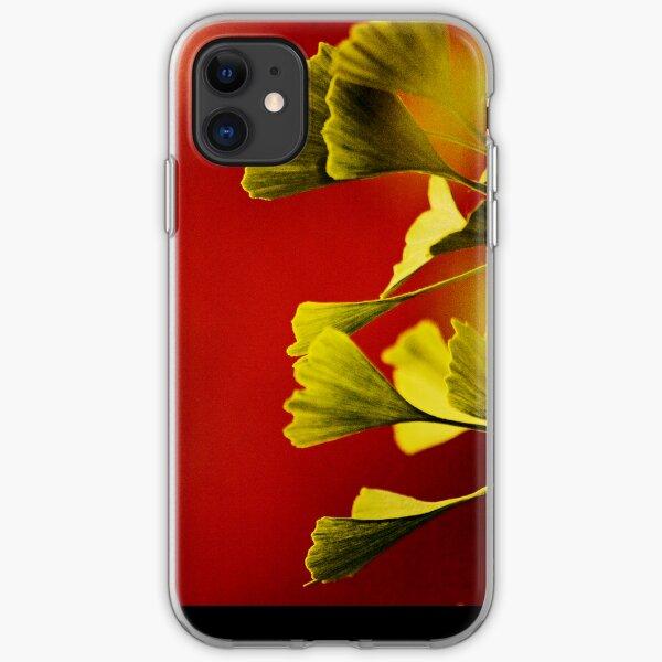 Vivid Ginkgo iPhone case. iPhone Soft Case