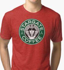 Stargate sg1 Coffee Tri-blend T-Shirt