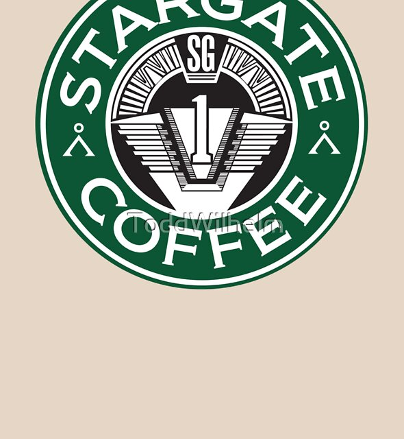 Stargate sg1 Coffee by ToddWilhelm