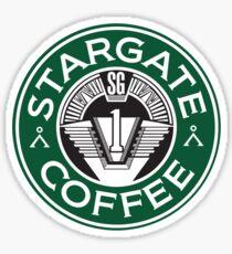 Stargate sg1 Coffee Sticker