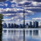 City of Toronto  Iphone Case by Elaine Manley