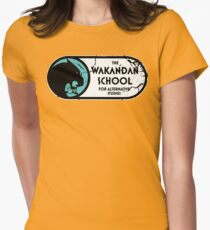 The Wakandan School For Alternative Studies Womens Fitted T-Shirt