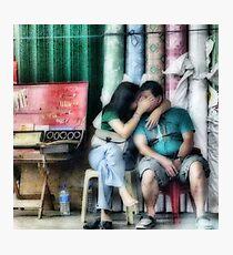 Secret kiss Photographic Print