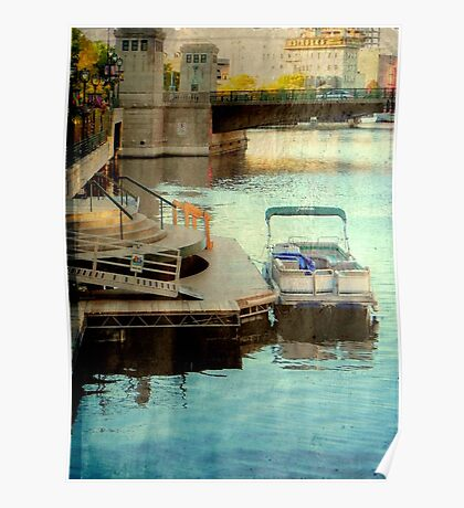 Milwaukee River View © Poster