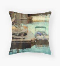 Milwaukee River View © Throw Pillow