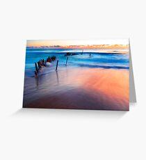 Dicky Beach Sunrise Greeting Card