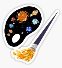 Planetary Palette Sticker