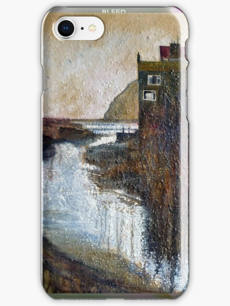 Gothic Staithes iphone cover by Sue Nichol