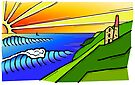 Kernow Coast by colourfreestyle