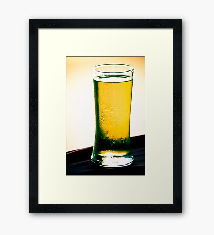 One more beer?: On 2 Featured Works Framed Print