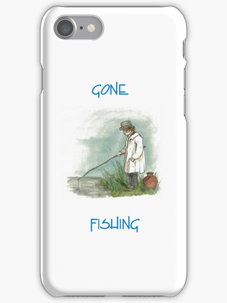Gone Fishing by Catherine Hamilton-Veal  ©