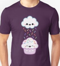 Cloud Peeing on Cupcake Unisex T-Shirt