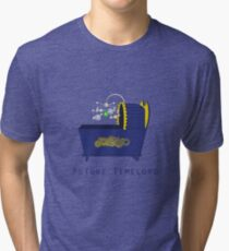Future Timelord Tri-blend T-Shirt