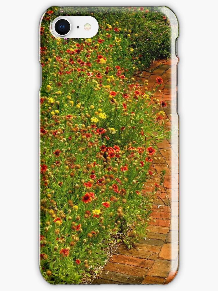 The Gardener iPhone Case by artisandelimage