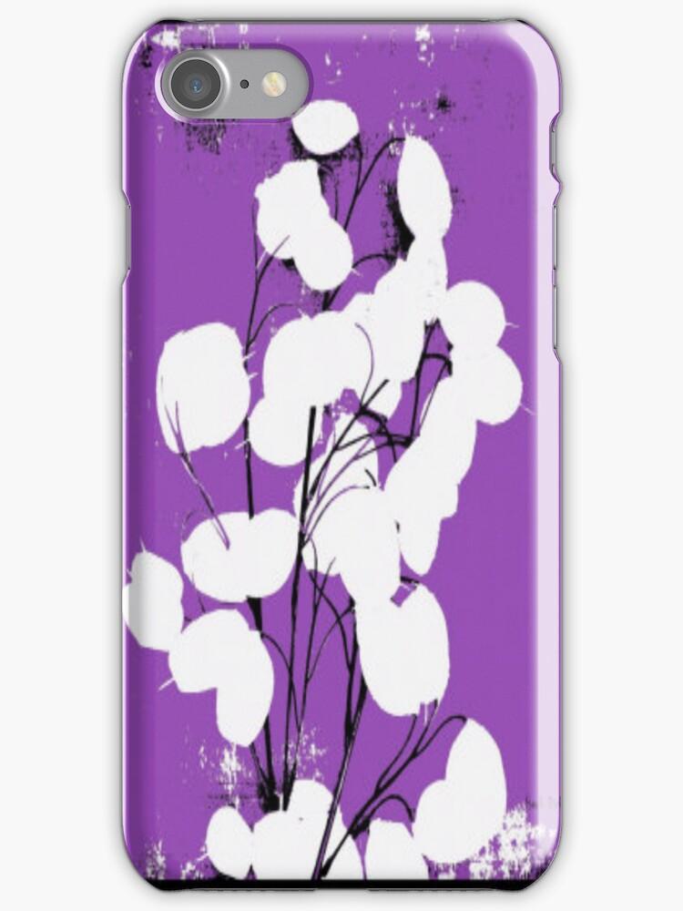Purple Money Plant by Herb Dickinson