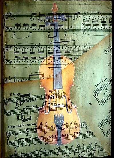 A masterpiece © Allegro molto e con brio by Dawn Becker