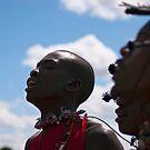 Maasai Warriors by evilcat