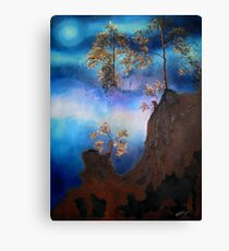 Indian Moon Canvas Print