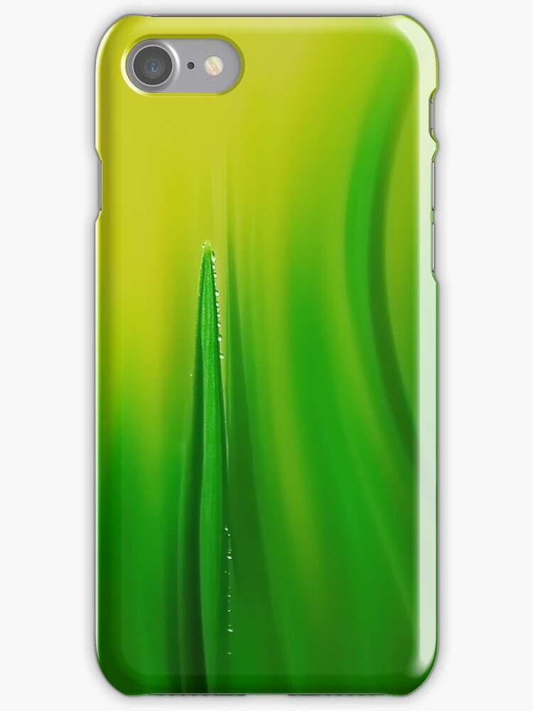 grass green - iphone case by Ingrid Beddoes