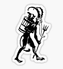 Krampus 008 Sticker