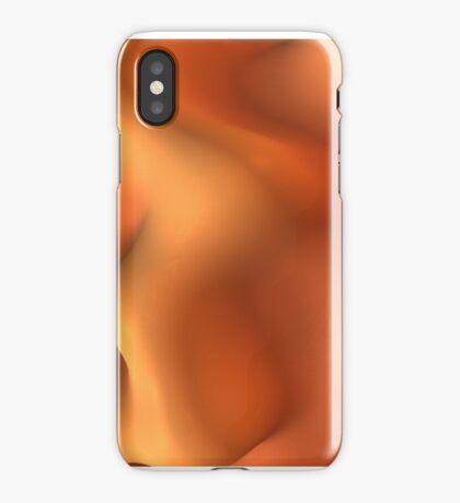 Orange Sherbet for iPhone iPhone Case