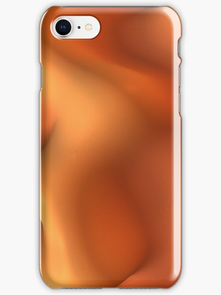 Orange Sherbet for iPhone by Lyle Hatch