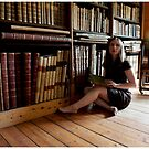 in the library by Bronwen Hyde