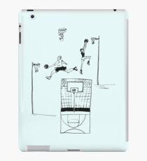 Basketball Retro Sketch iPad-Hülle & Klebefolie