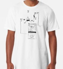 Basketball Retro Sketch Longshirt