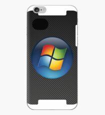 Carbon Fiber Windows Logo iPhone Case iPhone Case