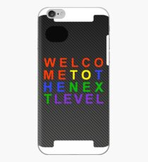 Carbon Fiber SEGA WELCOME TO THE NEXT LEVEL iPhone Case iPhone Case