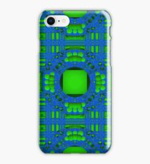 Blue & Green Pattern for iPhone iPhone Case/Skin