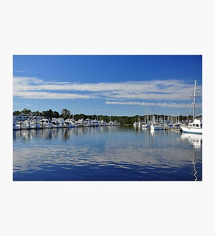Harbor View at Wickford  Photographic Print