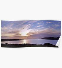 Evening at Trawenagh Bay Poster