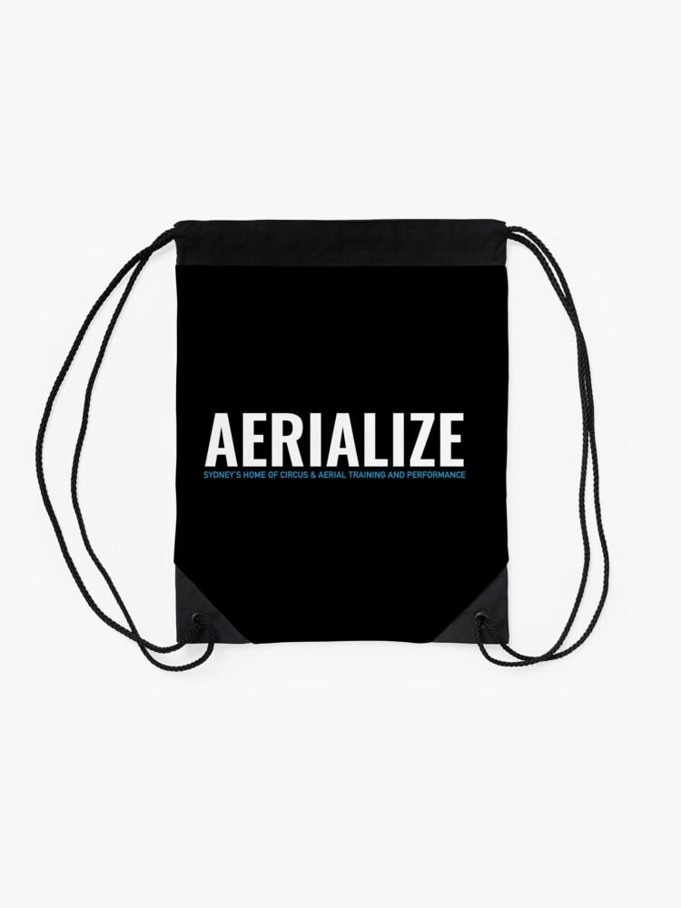 Alternate view of Aerialize Merchandise Drawstring Bag