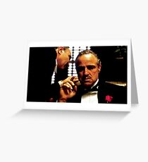 God Father Greeting Card