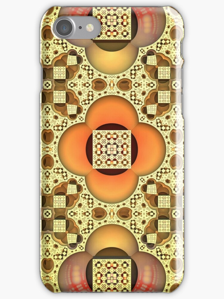 Pleasing Pattern for iPhone by Lyle Hatch