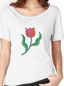 Tulip - Think Spring Women's Relaxed Fit T-Shirt