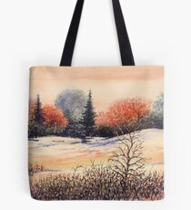 EARLY SNOW Tote Bag